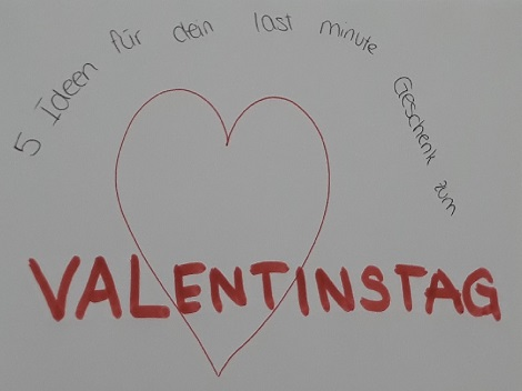 Valentinstag Geschenkideen