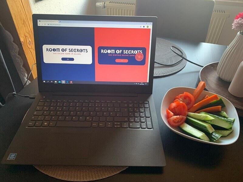 Bei Natis Vorbereitung durfte Gemüse nicht fehlen.