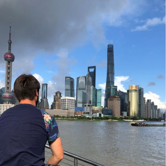 Skyline, Shanghai, Urlaub, Travel, China