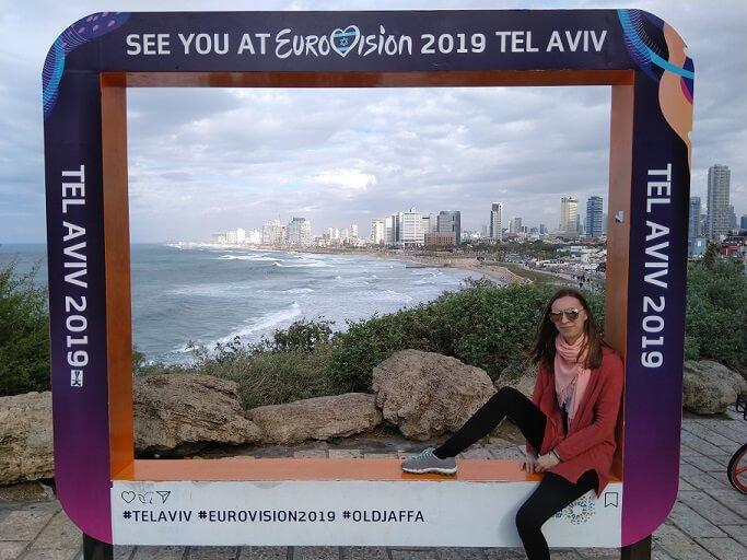 Swantje Hansen in Tel Aviv