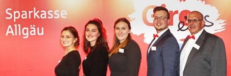 unser Sparkassen-Team bei der Siegerehrung ©: Achim Crispien