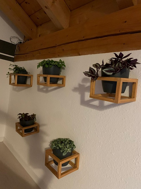 Wand Blumentopfhalterung