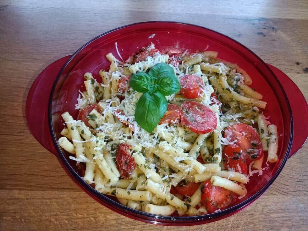Vroni's Nudeln mit Pesto