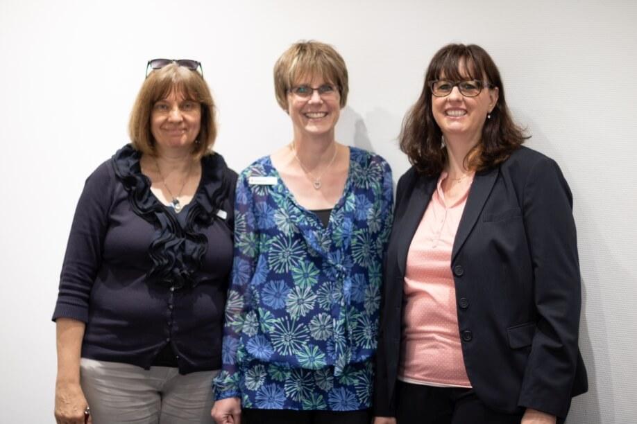 Andrea Rupprecht, Anita Pohl und Monika Menz