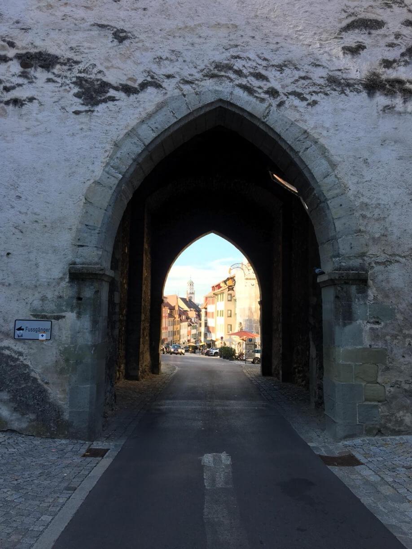 Eingang in die Innenstadt von Ravensburg