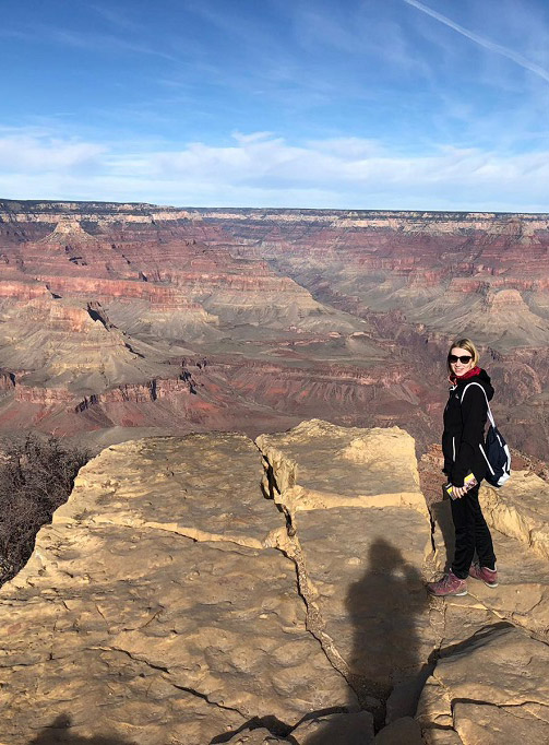 Am Rande des Grand Canyons