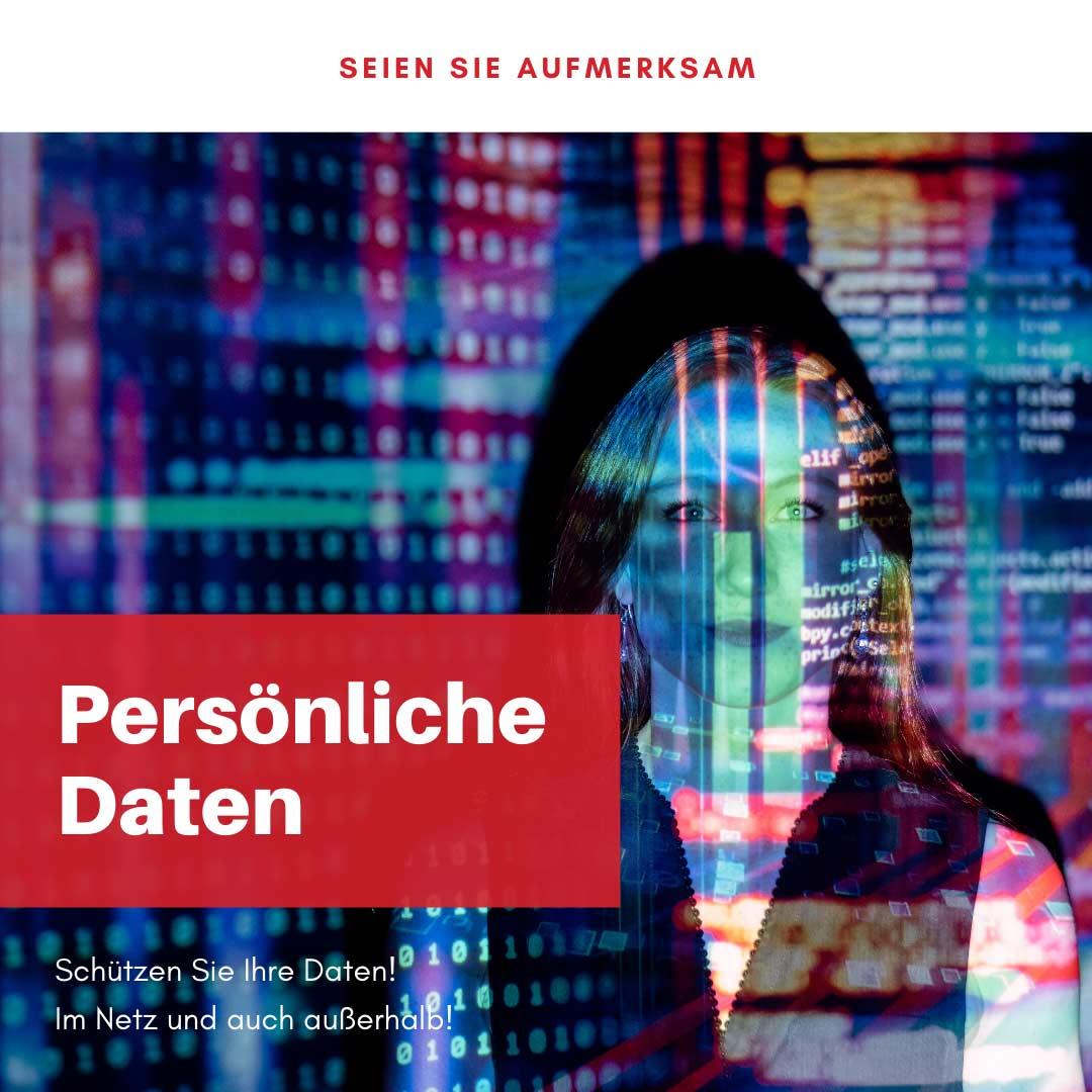 Schützen Sie Ihre persönlichen Daten