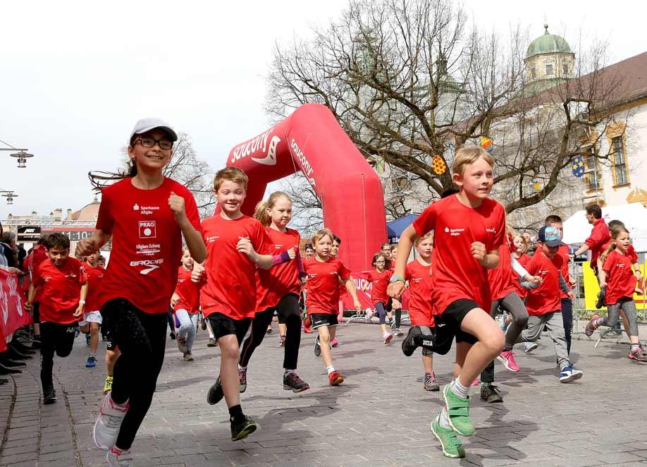 Der KidsRun begeistert Kinder für den Laufsport