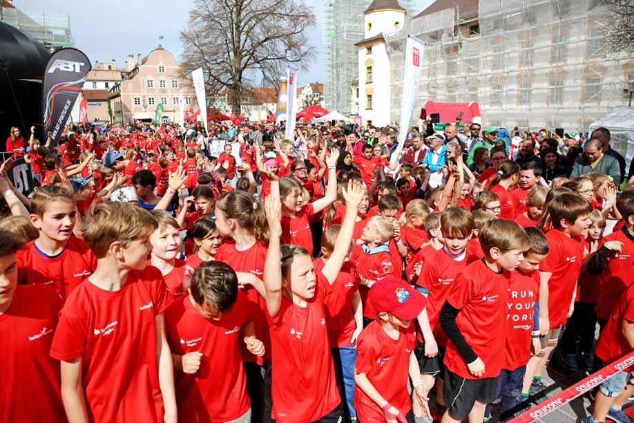 Der Laufsporttag Kempten begeistert Jung und Alt