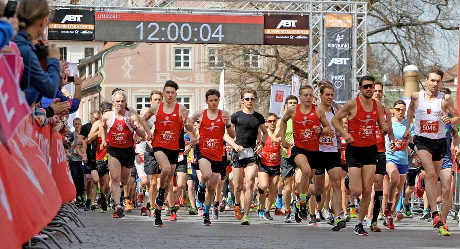 Wenn der Startschuss gefallen ist wird es für Läufer und Zuschauer spannend