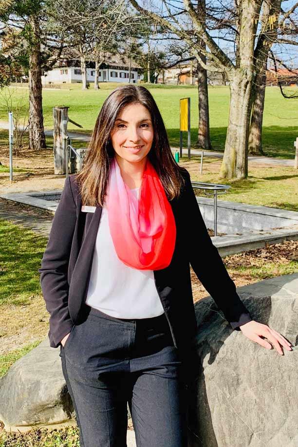 Lisa Herb ist die neue Filialleiterin in Seeg