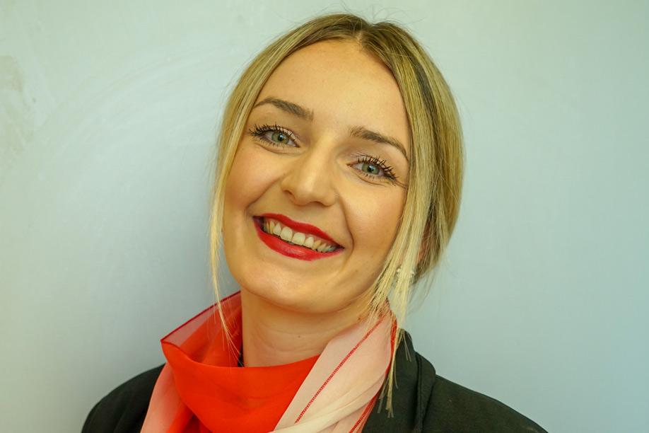 Luzie Helmer ist die neue Filialleiterin der Sparkasse in Schwangau (Foto: Duran-Pablo)