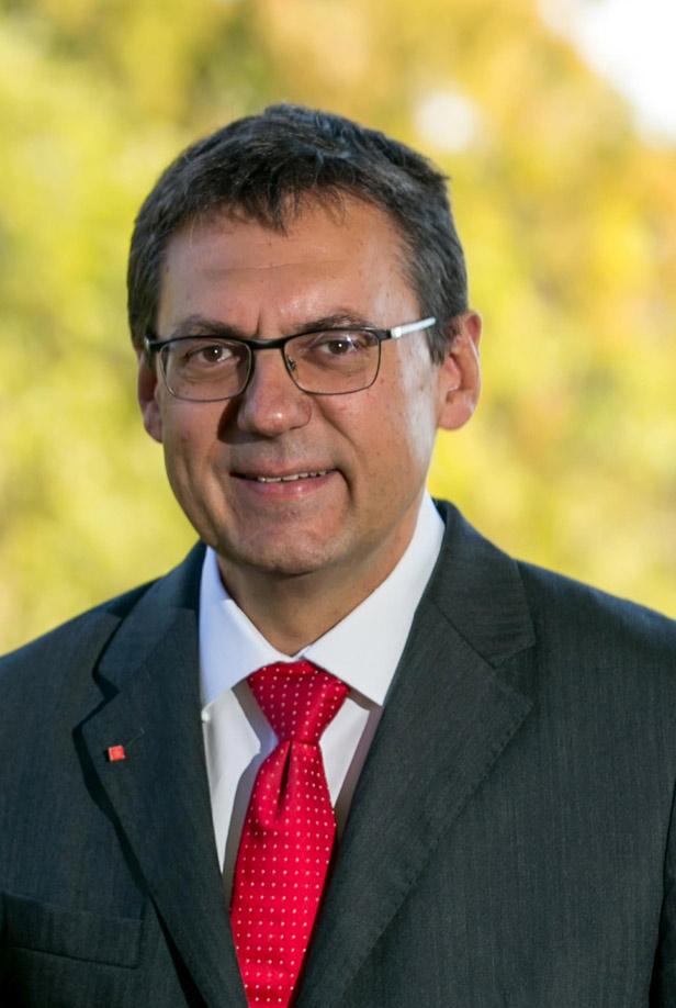 Manfred Hegedüs, Vorstandsvorsitzender Sparkasse Allgäu