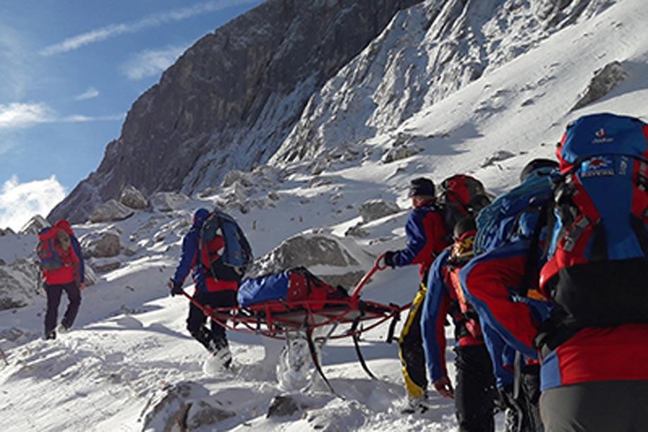 Die Bergwacht Pfronten im Einsatz