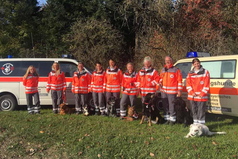 Die Rettungshundestaffel des BRK Kreisverband Oberallgäu