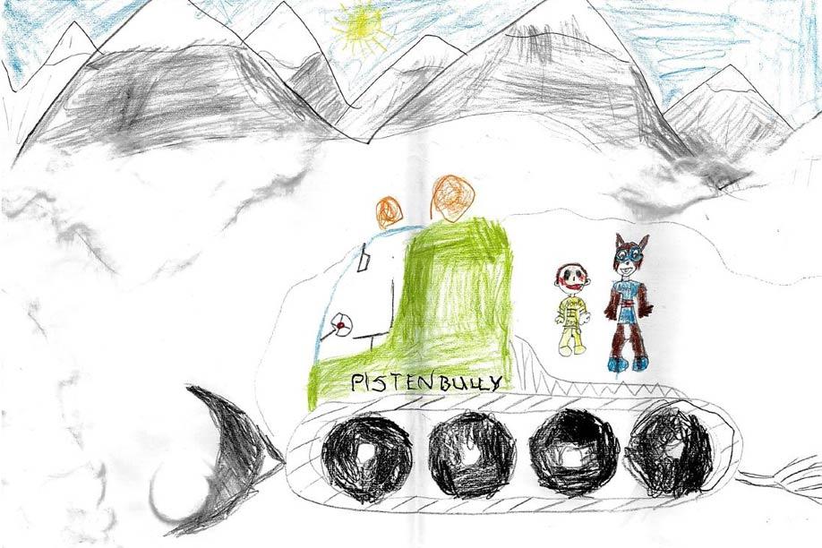Moritz 6 Jahre - 1. Platz in der Altersgruppe 4-6 Jahre