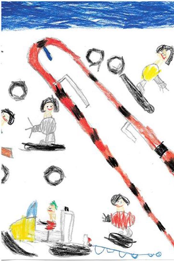 Simon 6 Jahre - 5. Platz in der Altersgruppe 4-6 Jahre