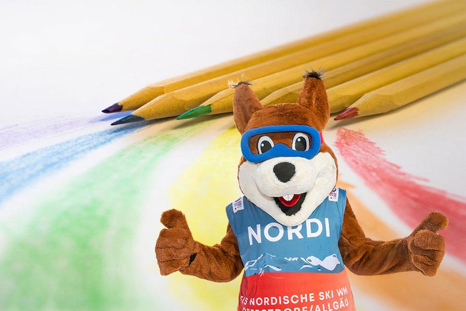 """Malwettbewerb """"Mein toller Tag mit Nordi"""""""