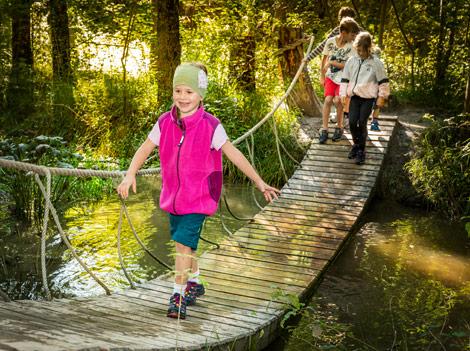 Erlebnisreiches Walderlebniszentrum Ziegelwies