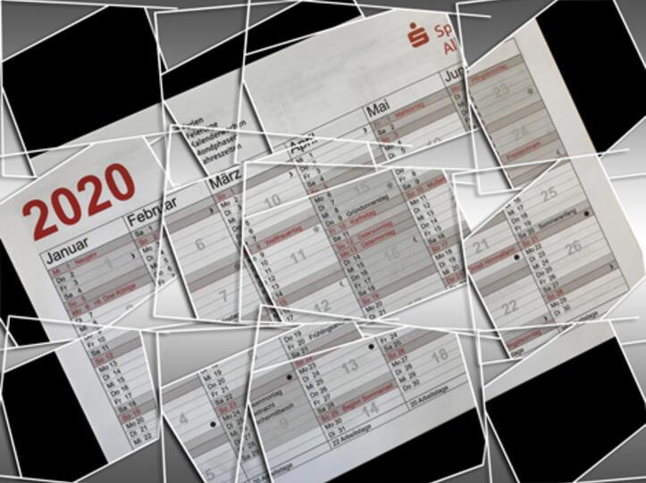 Kalender 2020 - Sparkasse Allgäu