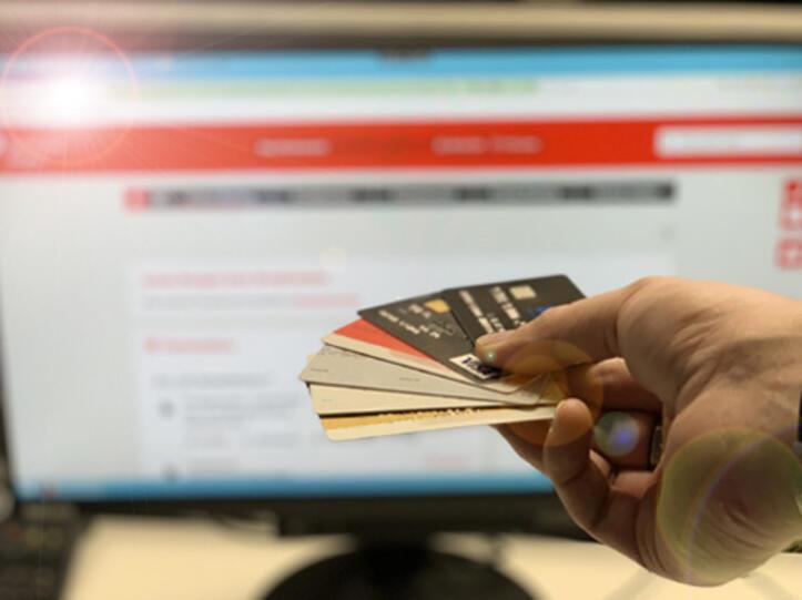 Viele Konten in einem Online-Banking