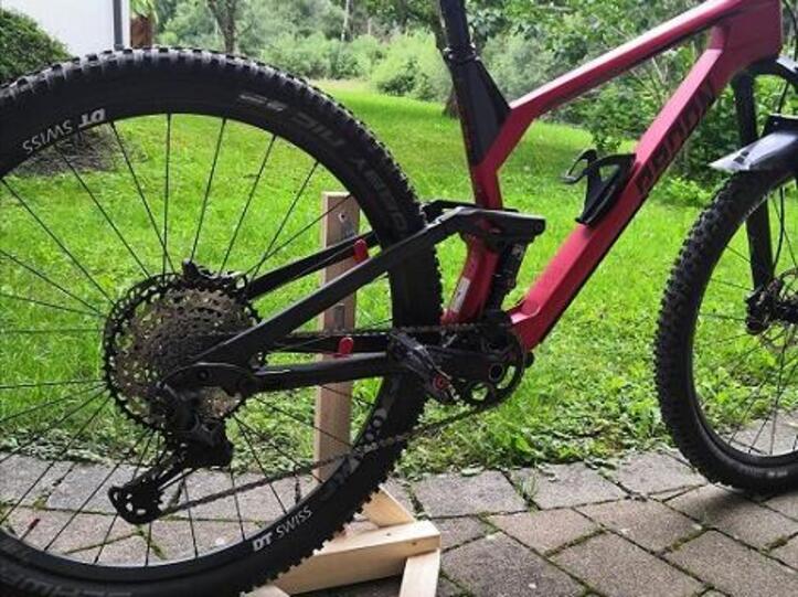 Bikestand mit Rad