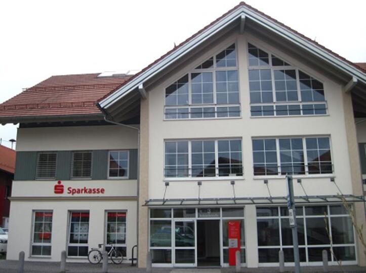 Die Sparkassenfiliale in Wiggensbach