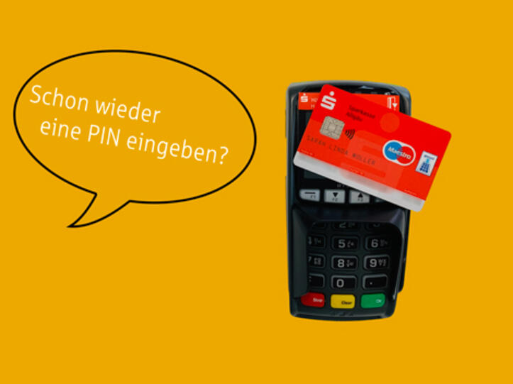 Kontaktlos bezahlen - Sparkasse