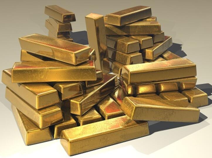 Gold als Geschenk