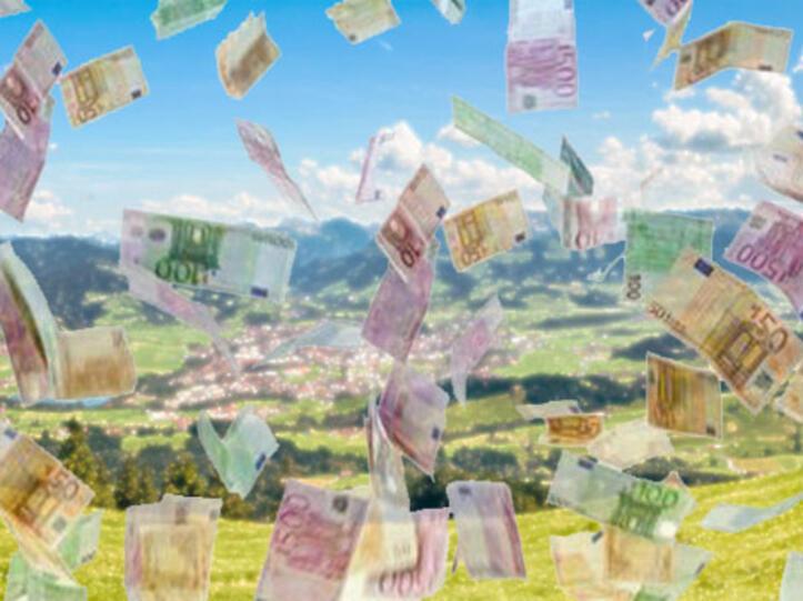 Geldregen für die Region - dank Sparkasse Allgäu
