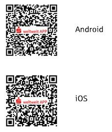 QR-Codes für die S-weltweit App